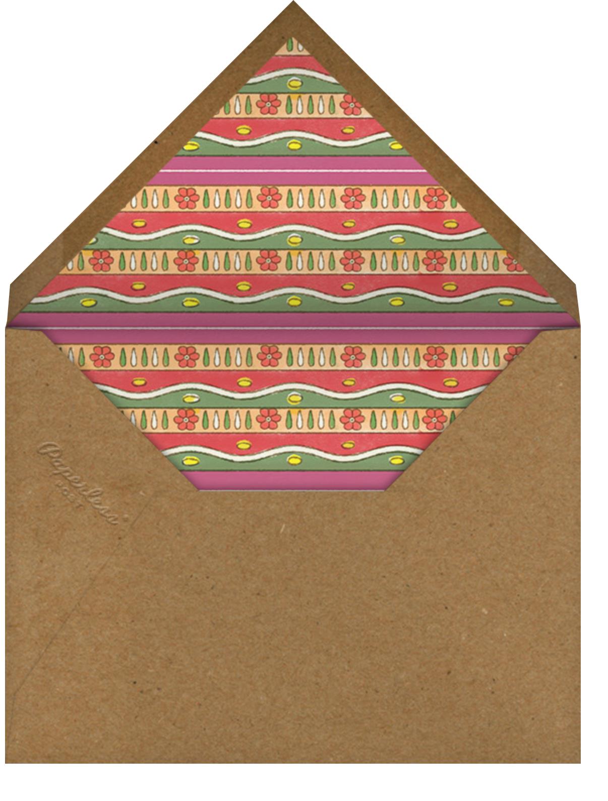 Painted Skull - Paperless Post - Envelope