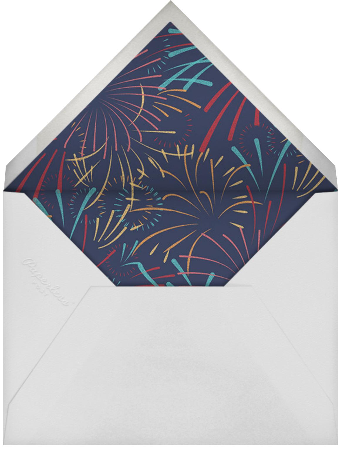 Skybursts - Midnight - Paperless Post - Envelope