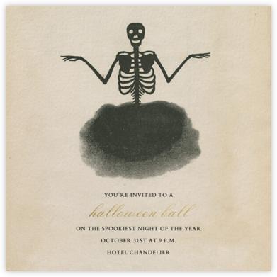 Dark Magic - John Derian - Halloween invitations