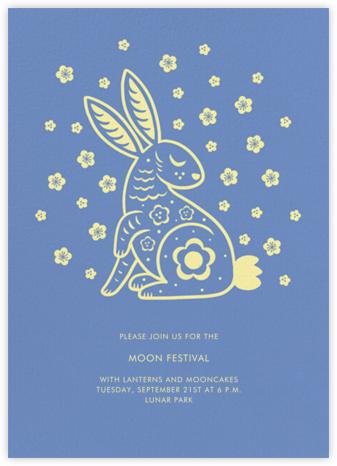 Cherry Blossom Rabbit - Paperless Post