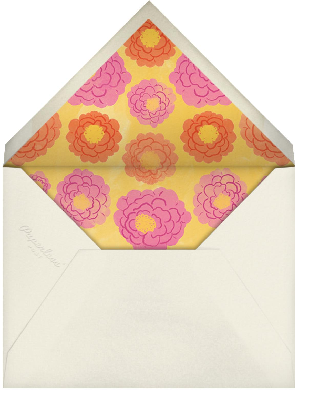 Vase of Marigolds - Paperless Post - Envelope