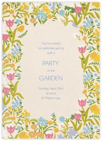 Lula - Schumacher - Spring Party Invitations