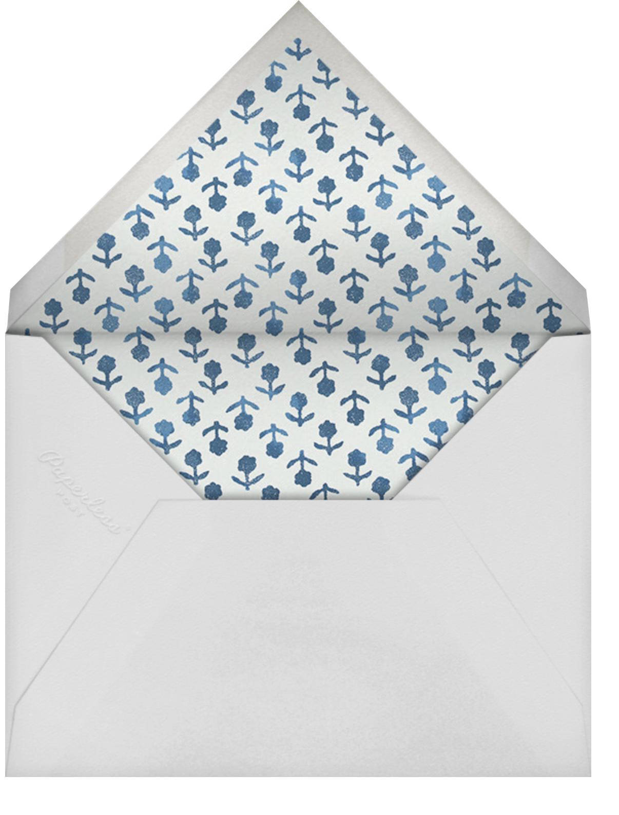 Zinnia - Schumacher - Envelope
