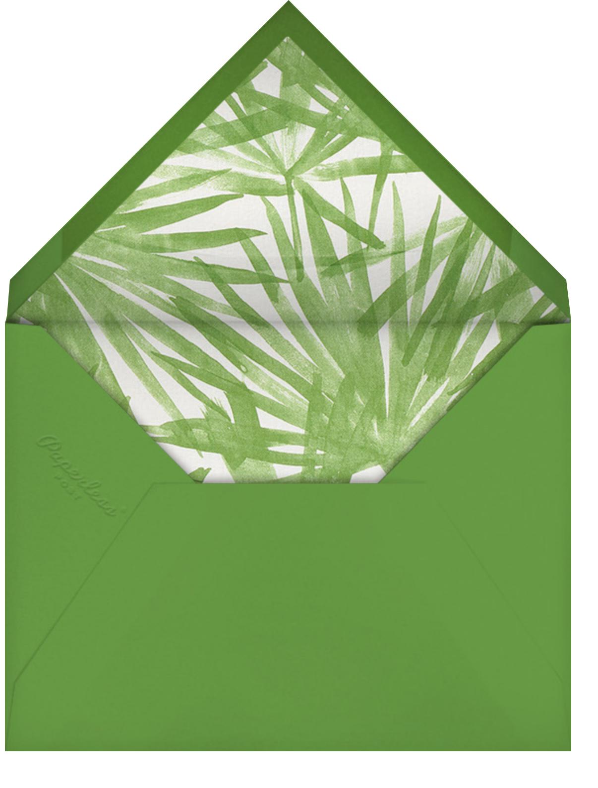 Sunlit Palm - Moss - Schumacher - Envelope
