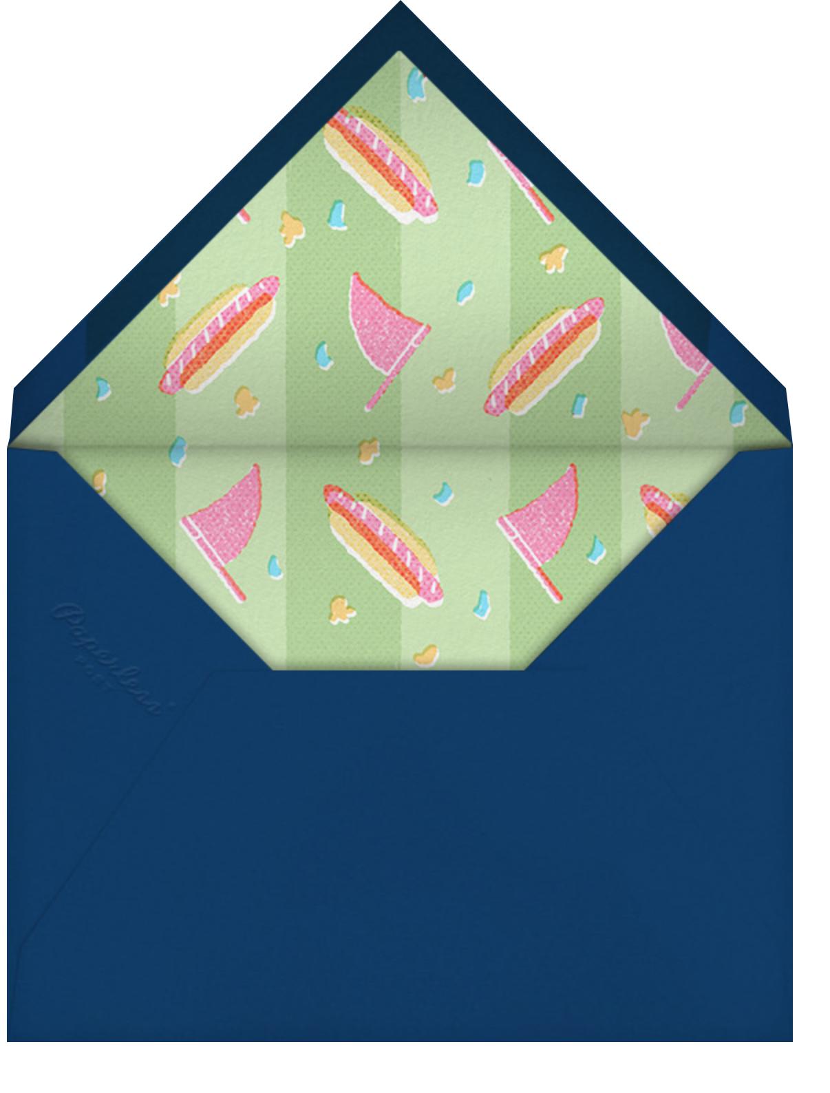 Fan Fare - Paperless Post - Envelope