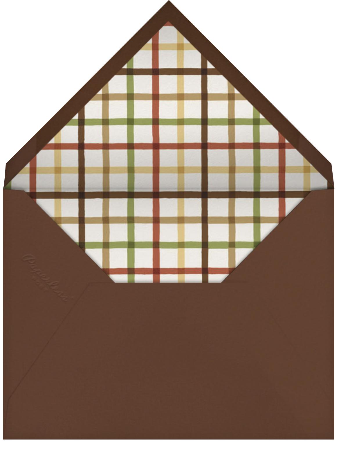 Autumn Wreath - Paperless Post - Envelope