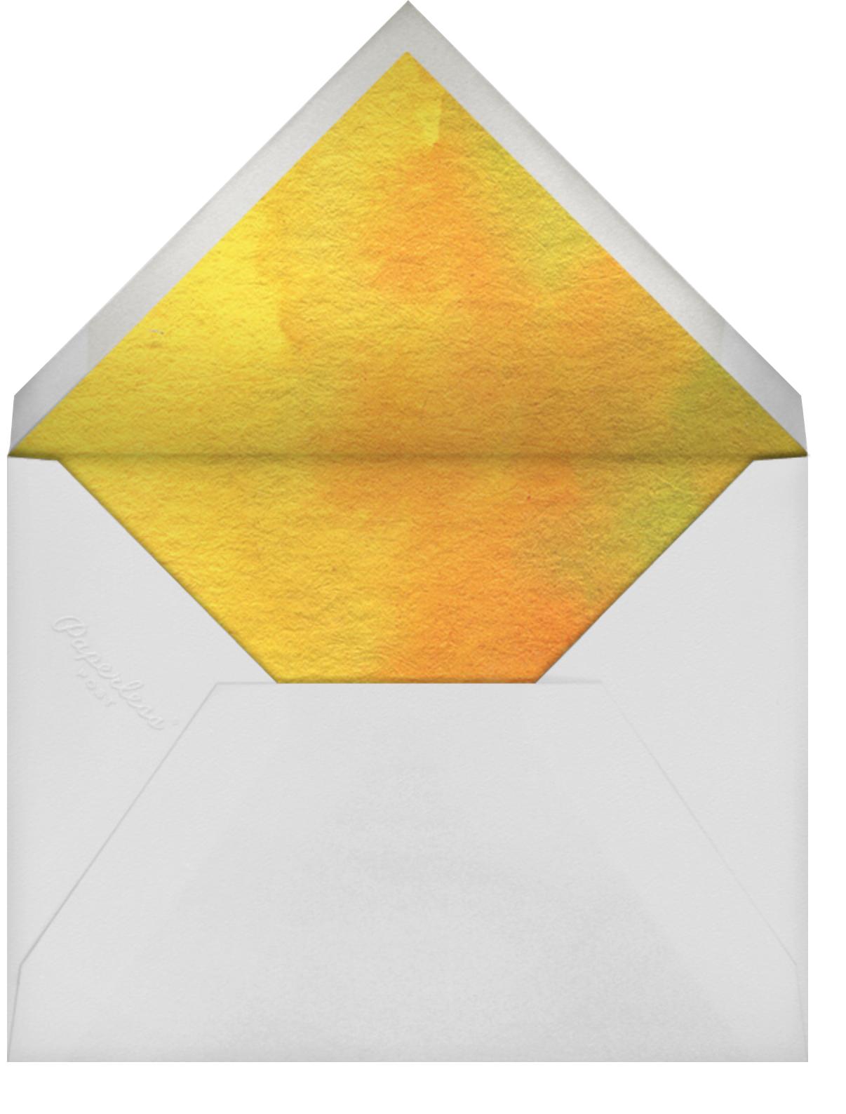 Golden Trees - Felix Doolittle - Envelope
