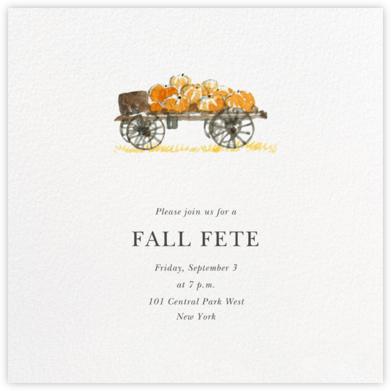 Pumpkin Cart - Felix Doolittle