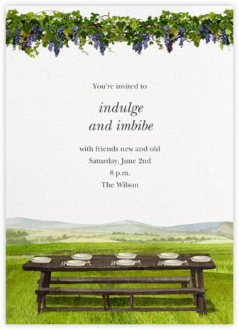 Vineyard Table - Felix Doolittle