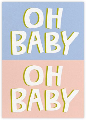 Baby, Baby - Pink - Cheree Berry Paper & Design