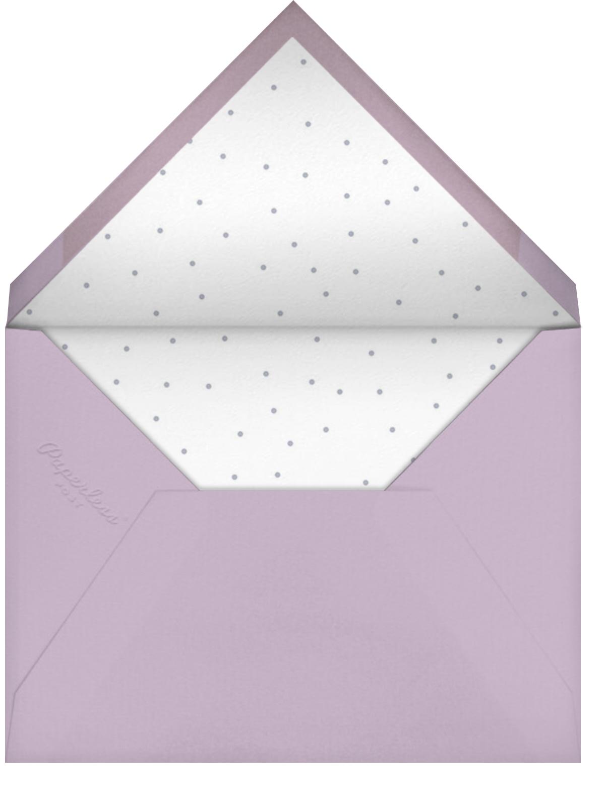 Garden Bunny - Little Cube - Envelope