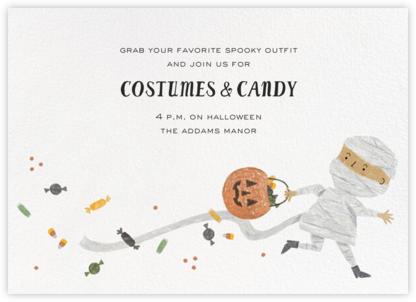 Mummy Treats - Medium - Paperless Post - Halloween invitations