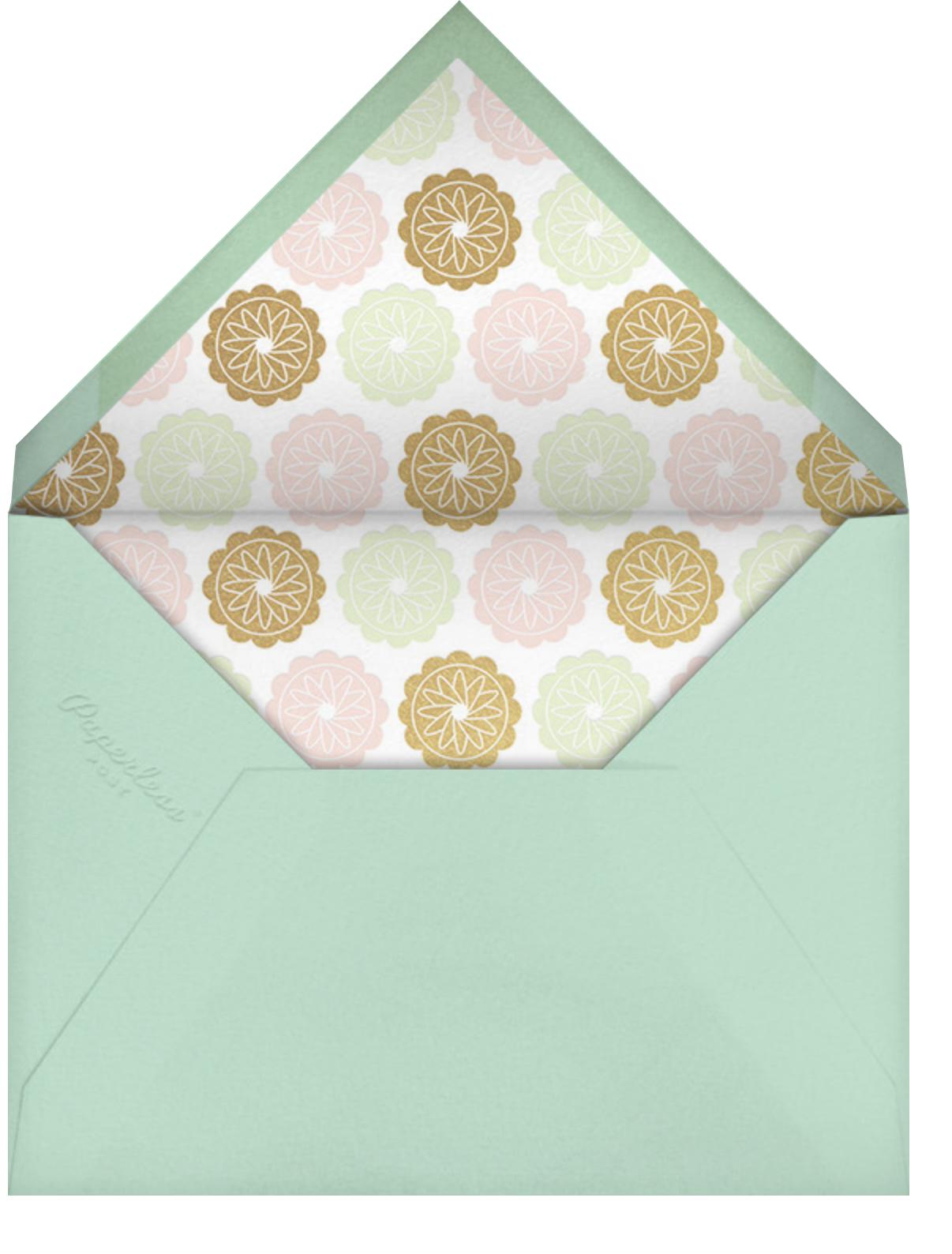 Golden Autumn - Paperless Post - Envelope