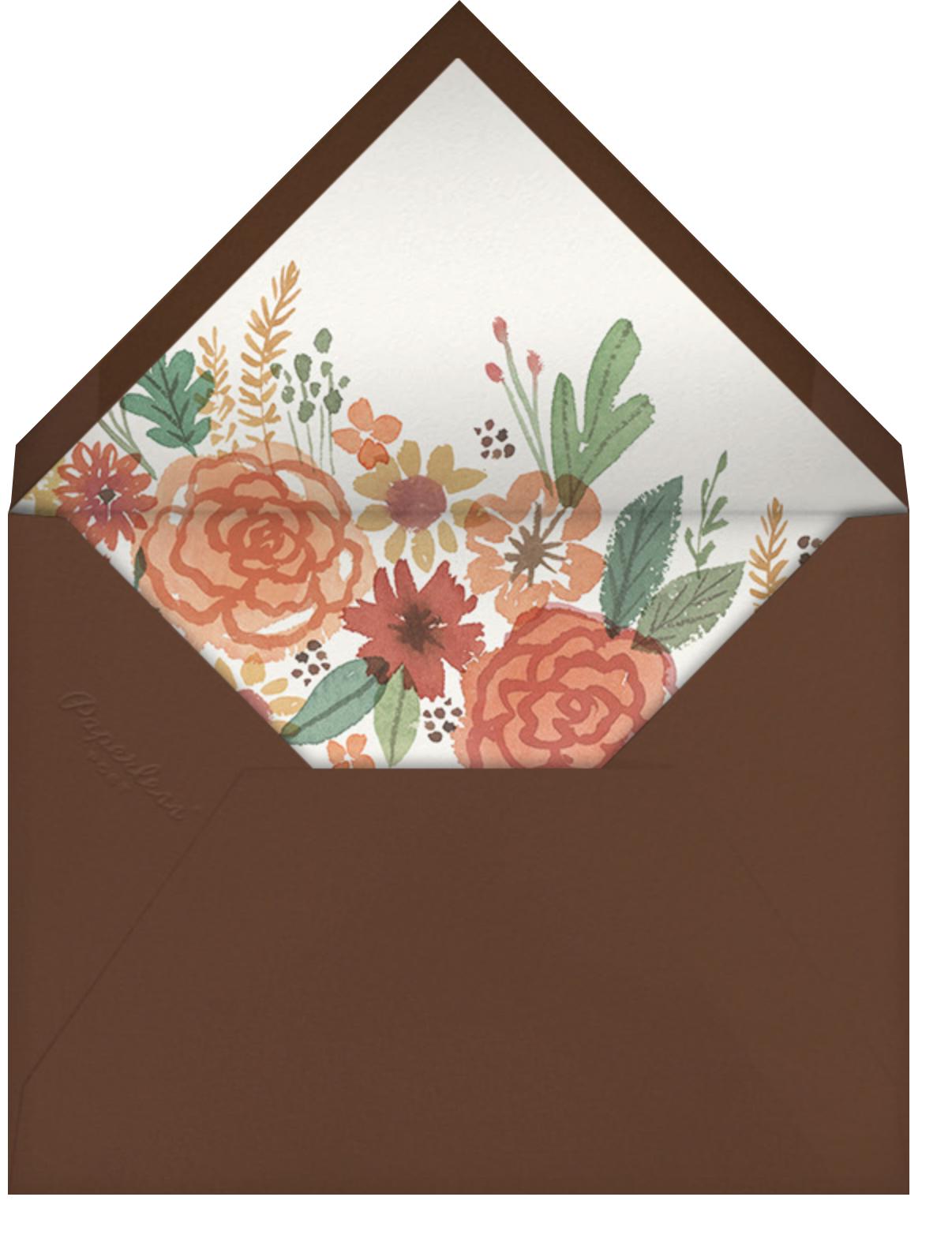 Autumn Garland - Paperless Post - Envelope