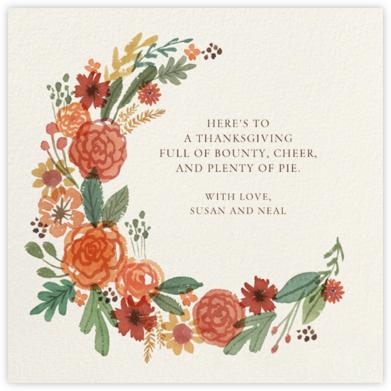 Autumn Garland - Paperless Post