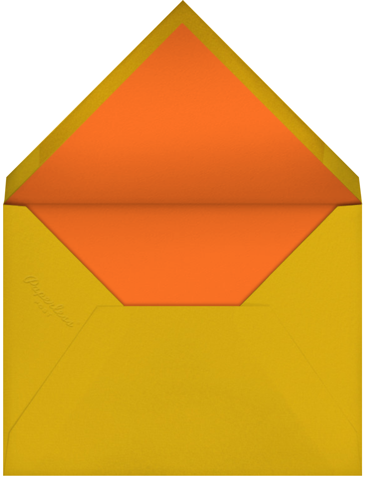 Thankful Groove - White - Paperless Post - Envelope