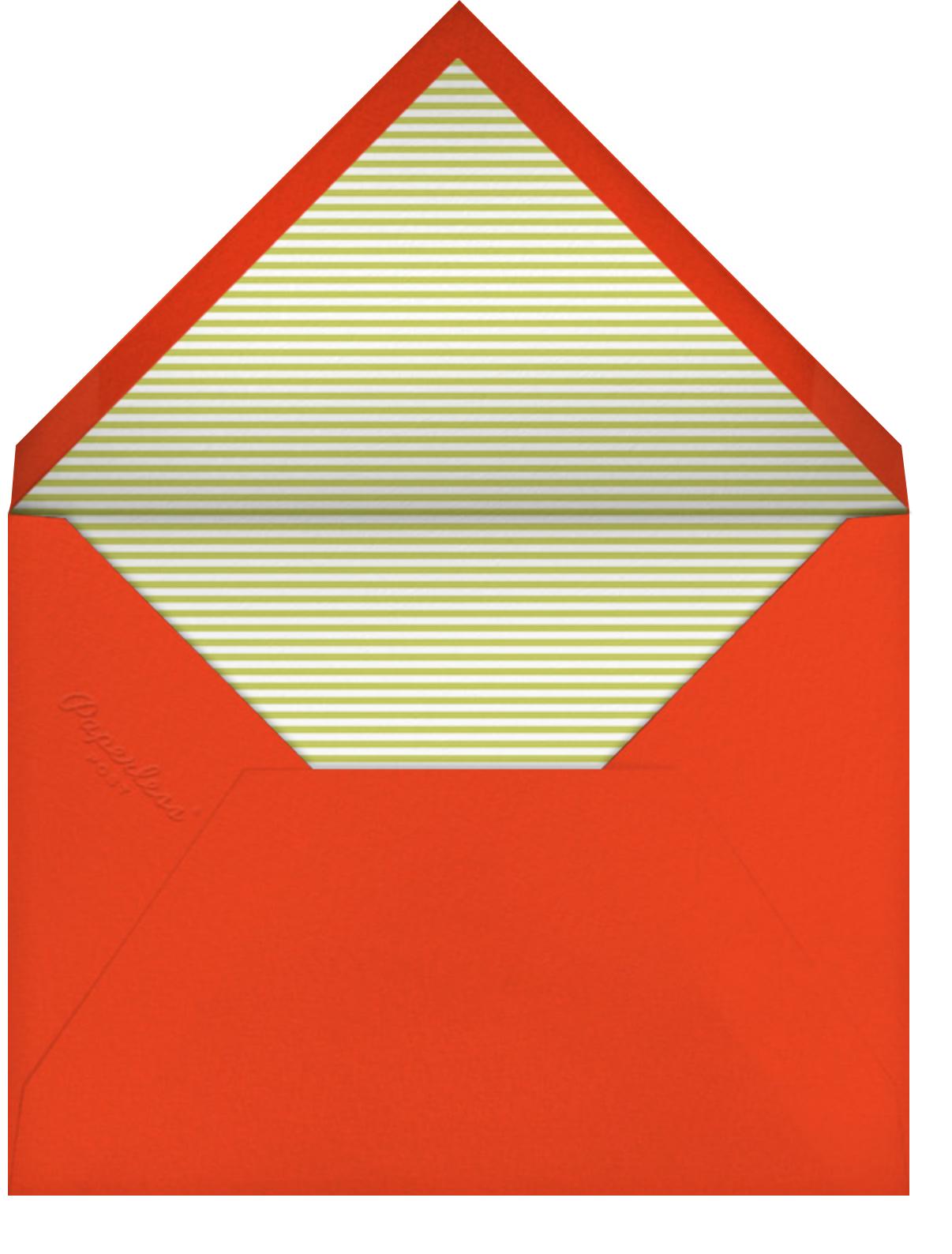 Snowville (Announcement) - Petit Collage - Envelope