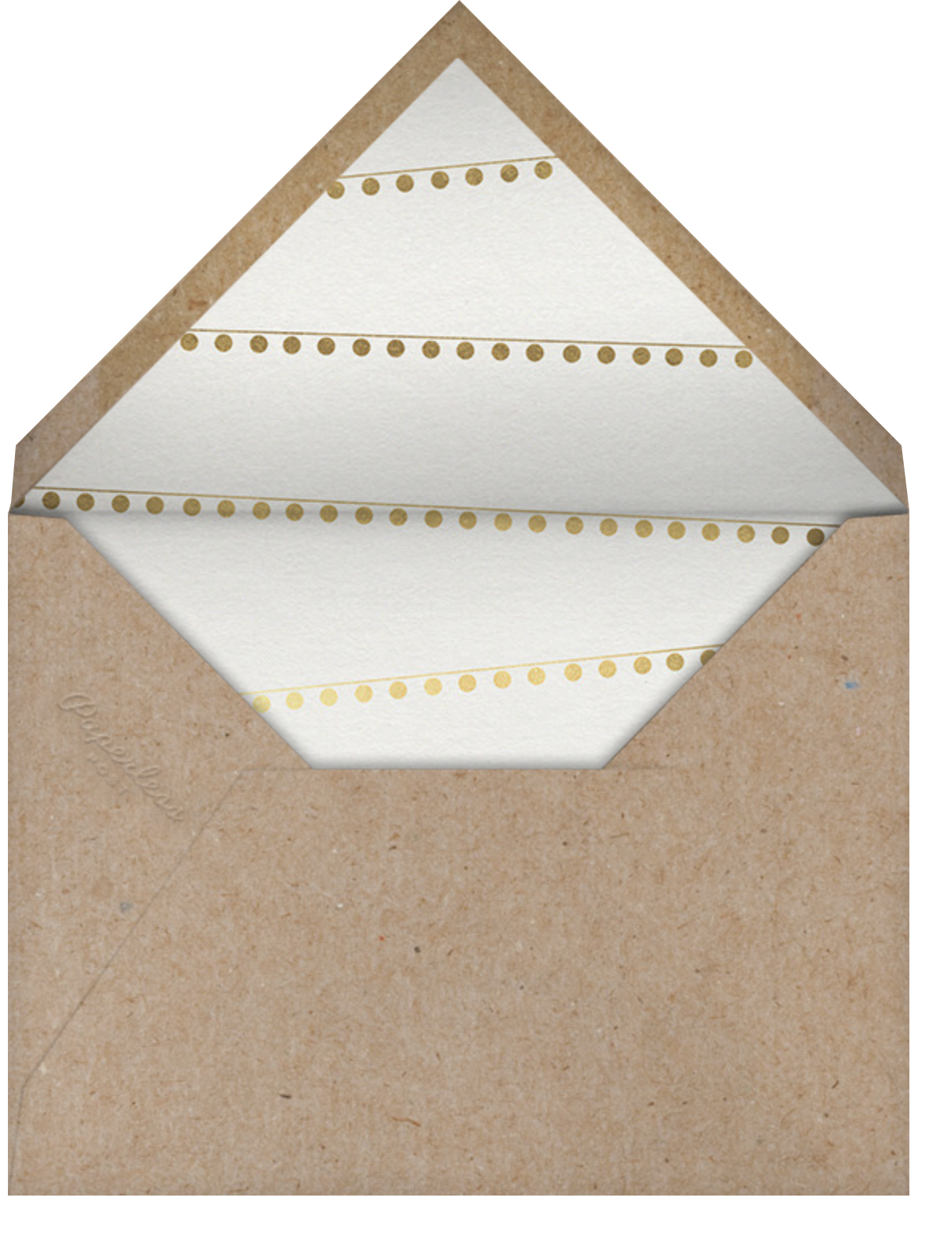 Holiday House Party - Paperless Post - Envelope