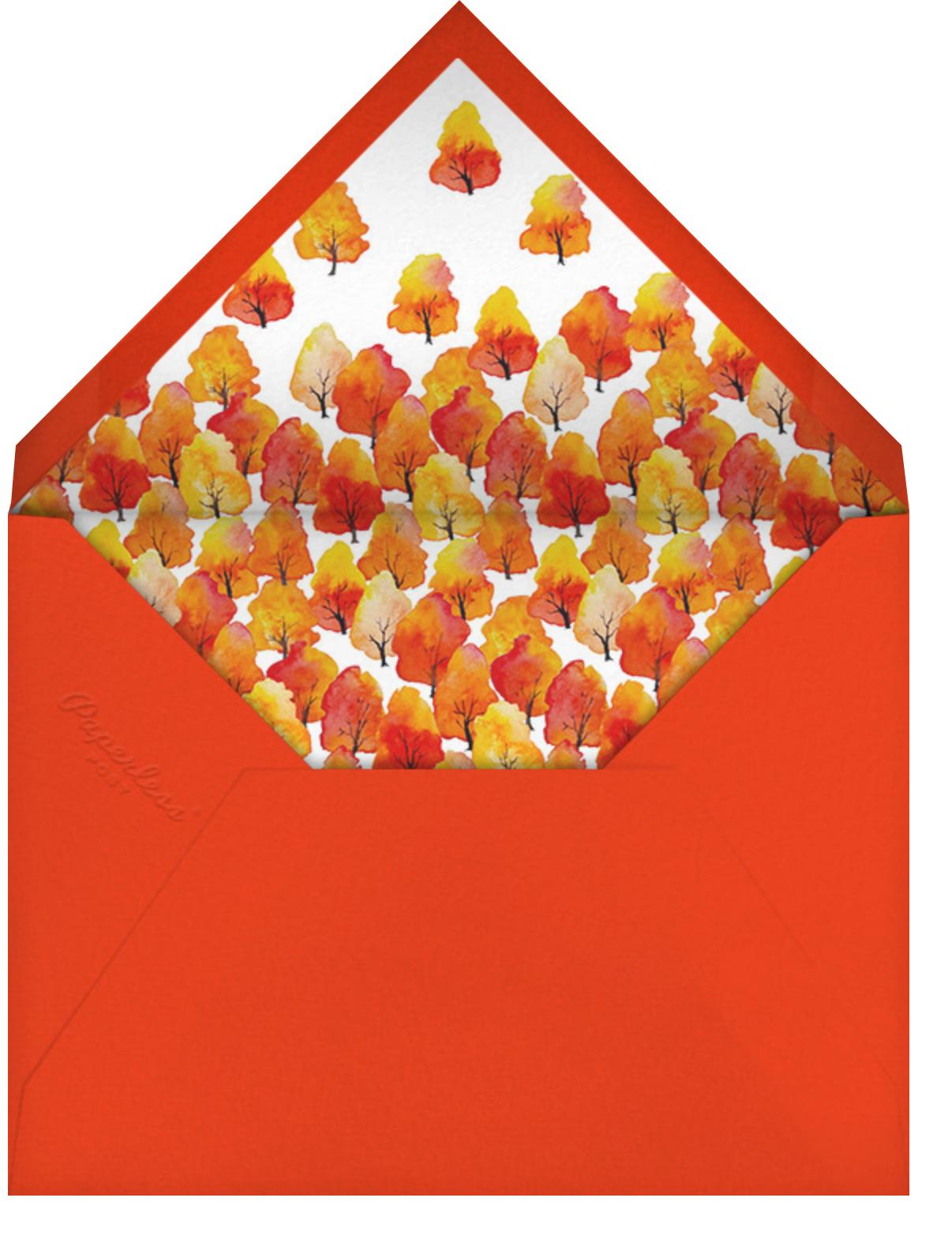 Wild Apples - Paperless Post - Envelope