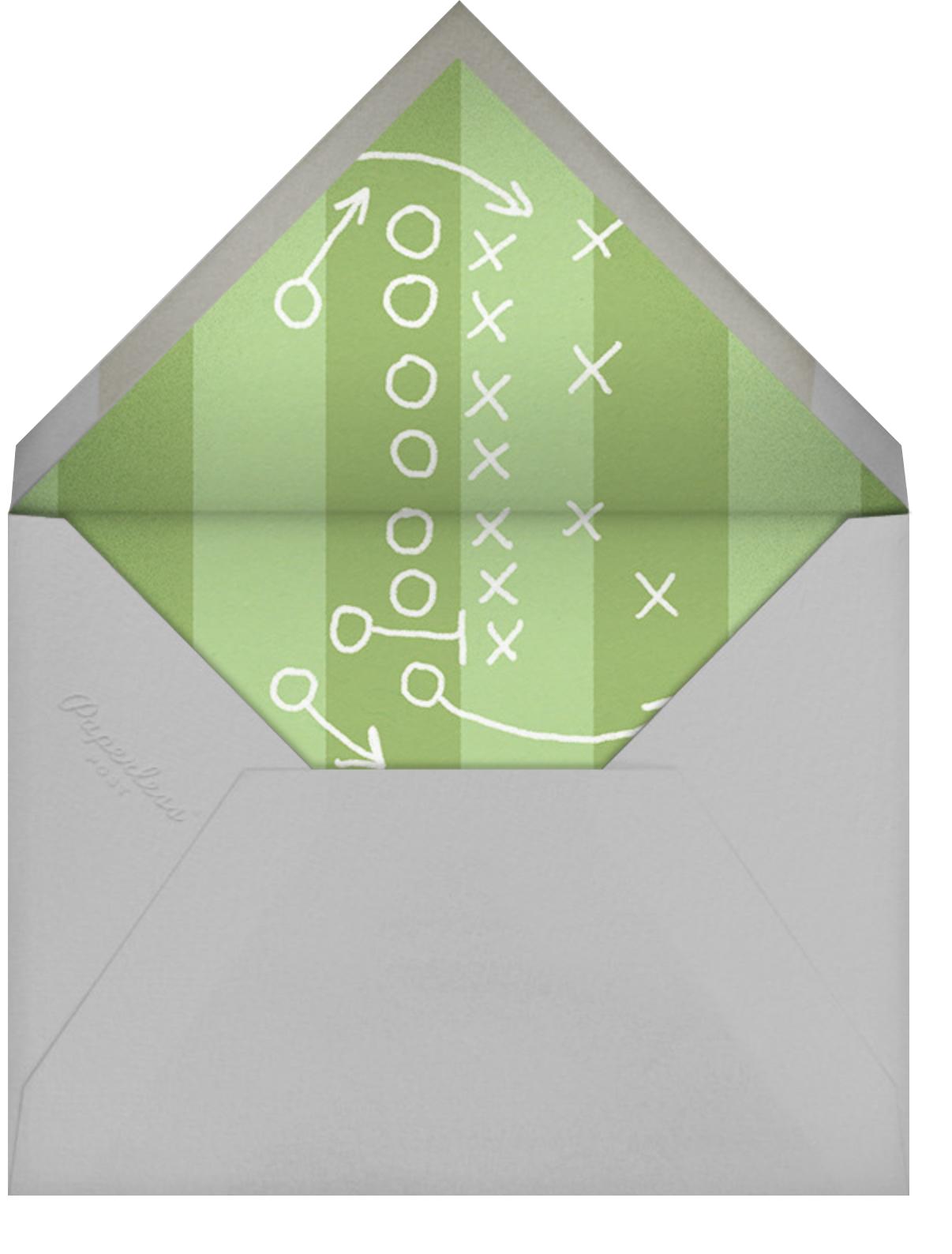 The Big Green - Paperless Post - Envelope