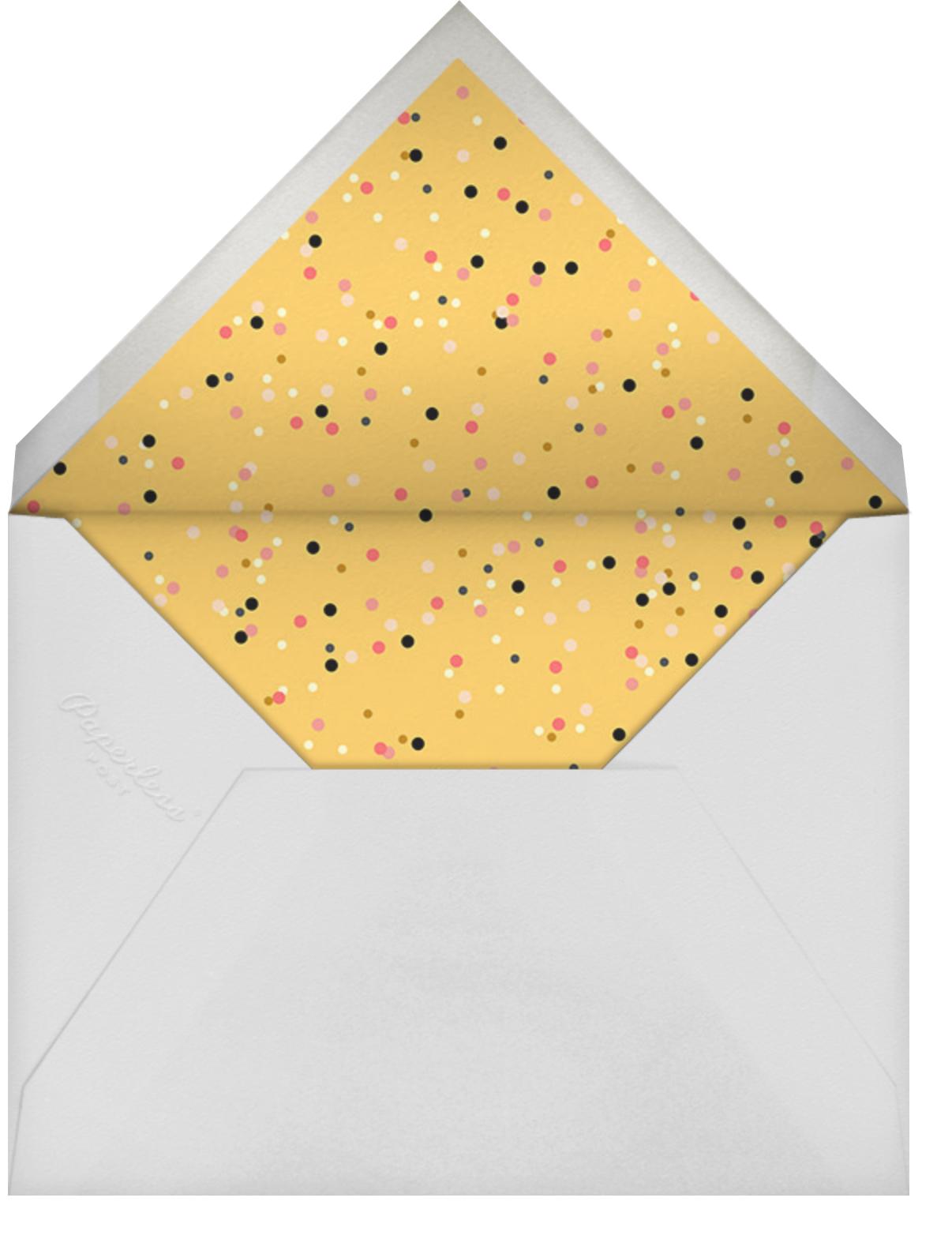 House of Sparks - Black - Paperless Post - Envelope