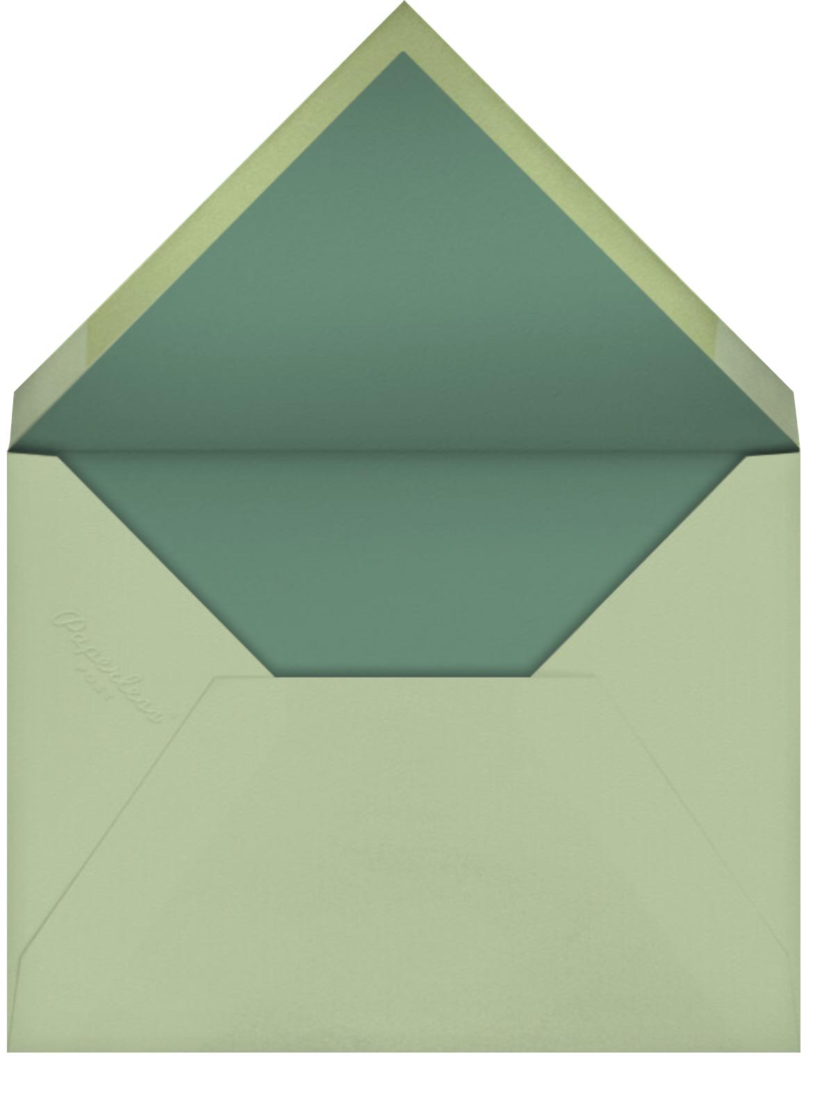 Home Advantage - Paperless Post - Envelope