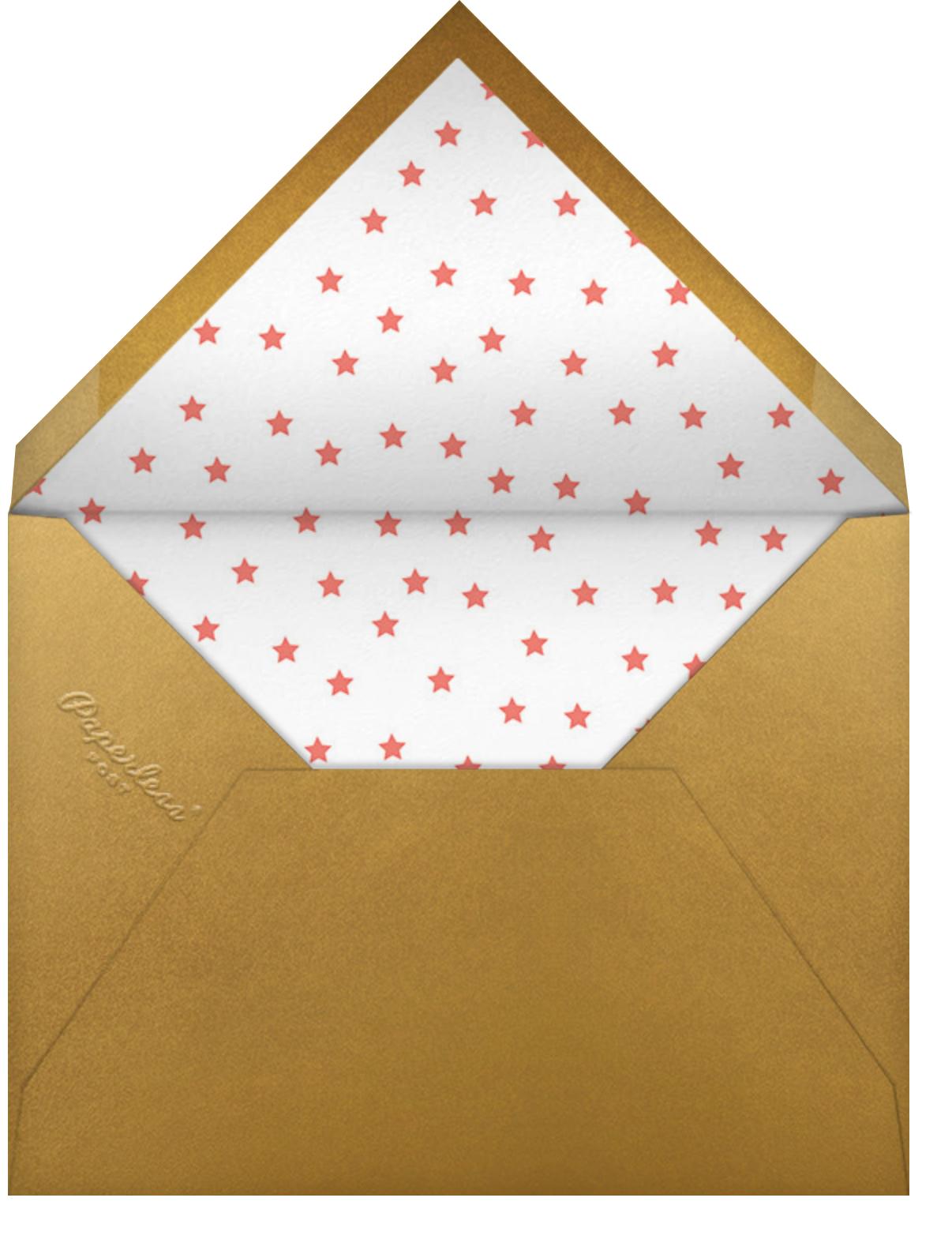 Joyful Stars - Little Cube - Envelope