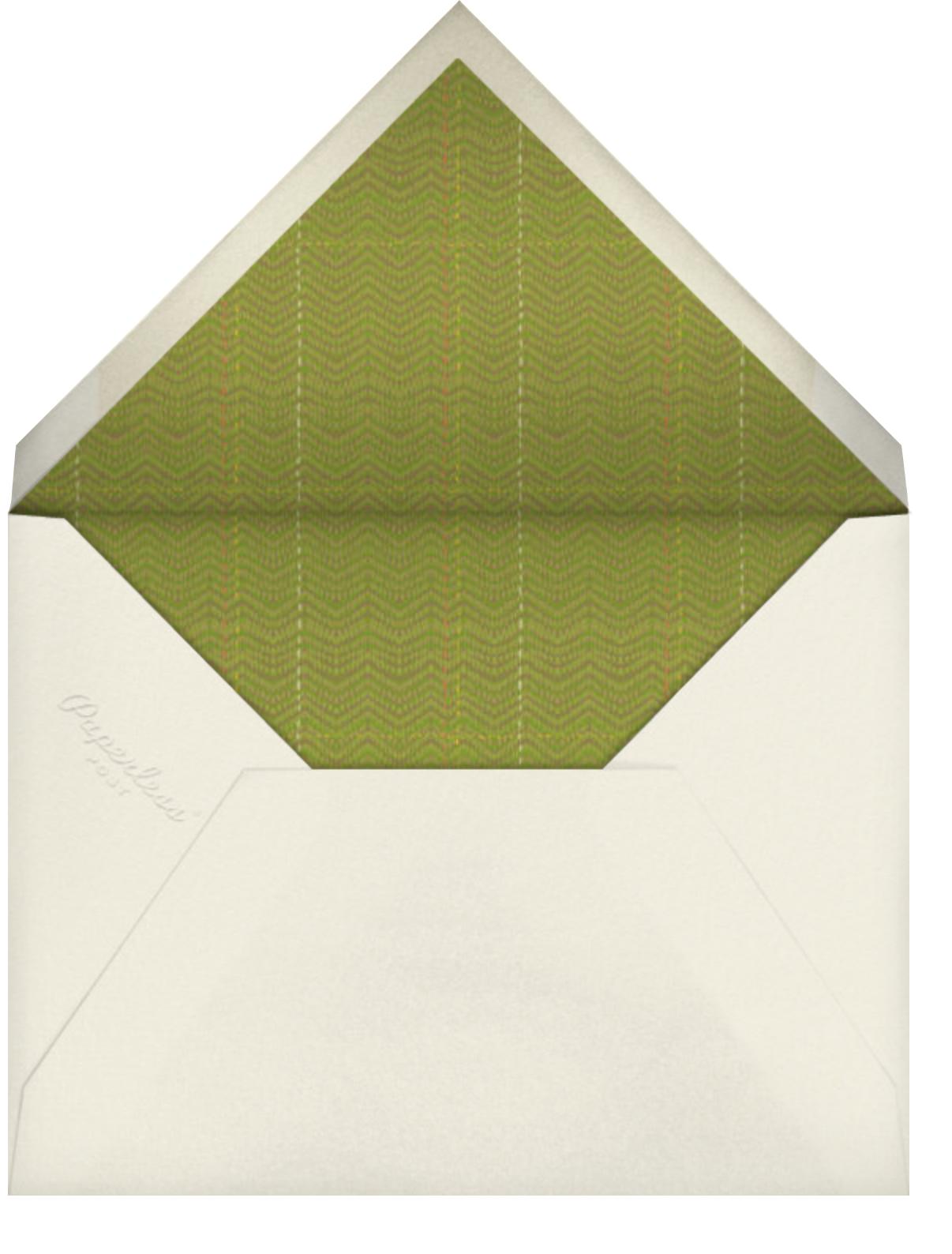 Squashed - Paperless Post - Envelope