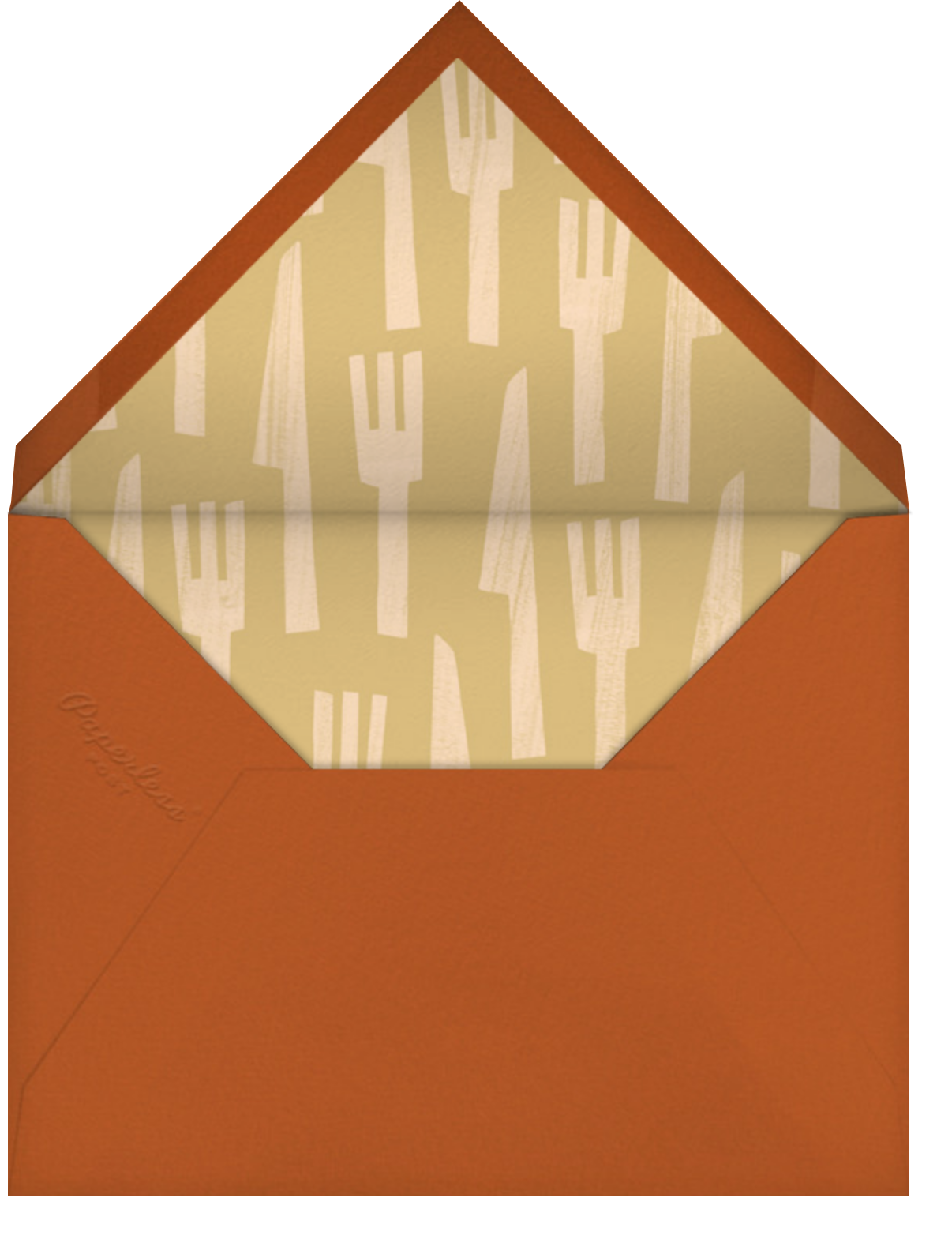 Iconic Duo - Paperless Post - Envelope