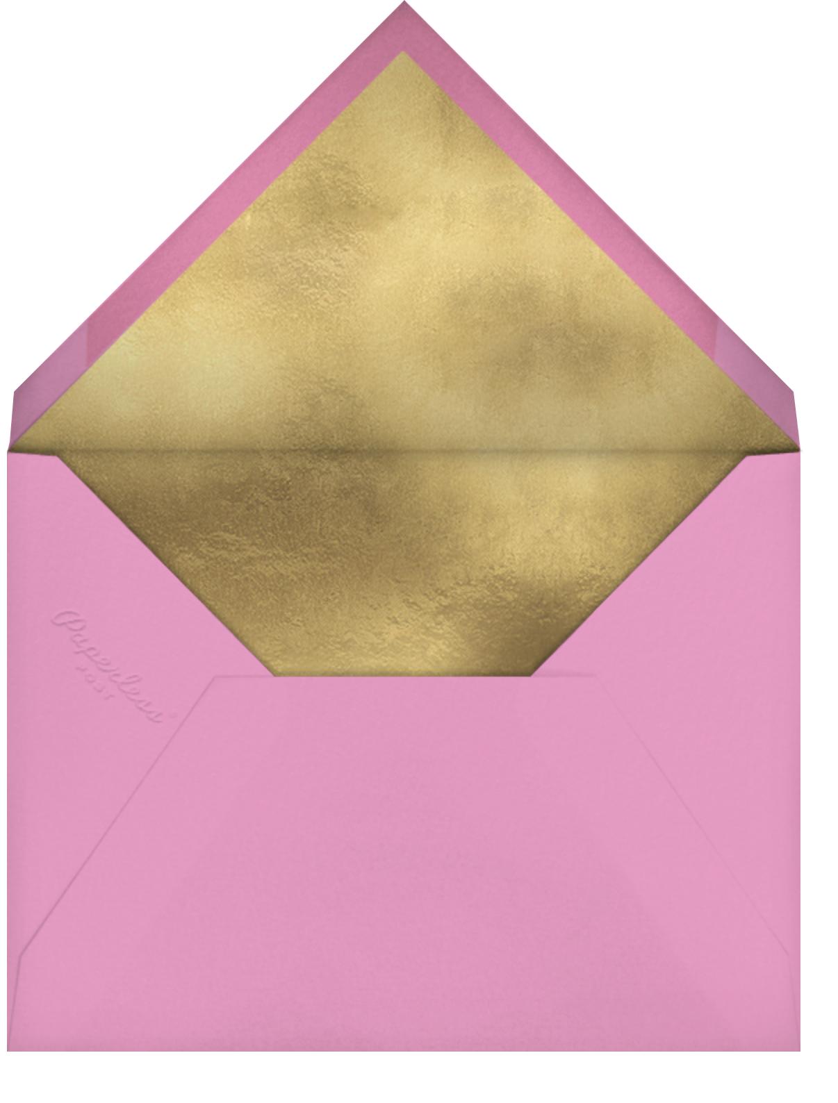 Baby Bunting - Pinks - Meri Meri - Envelope