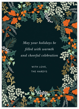 Wilwood Holiday - Rifle Paper Co.