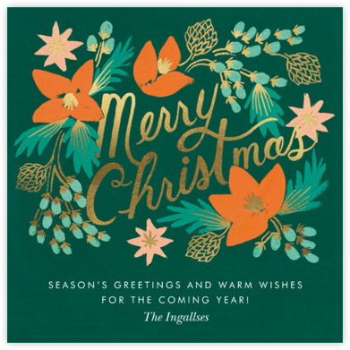 Wintergreen Christmas - Rifle Paper Co.