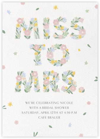 Blooming Bride - Paperless Post