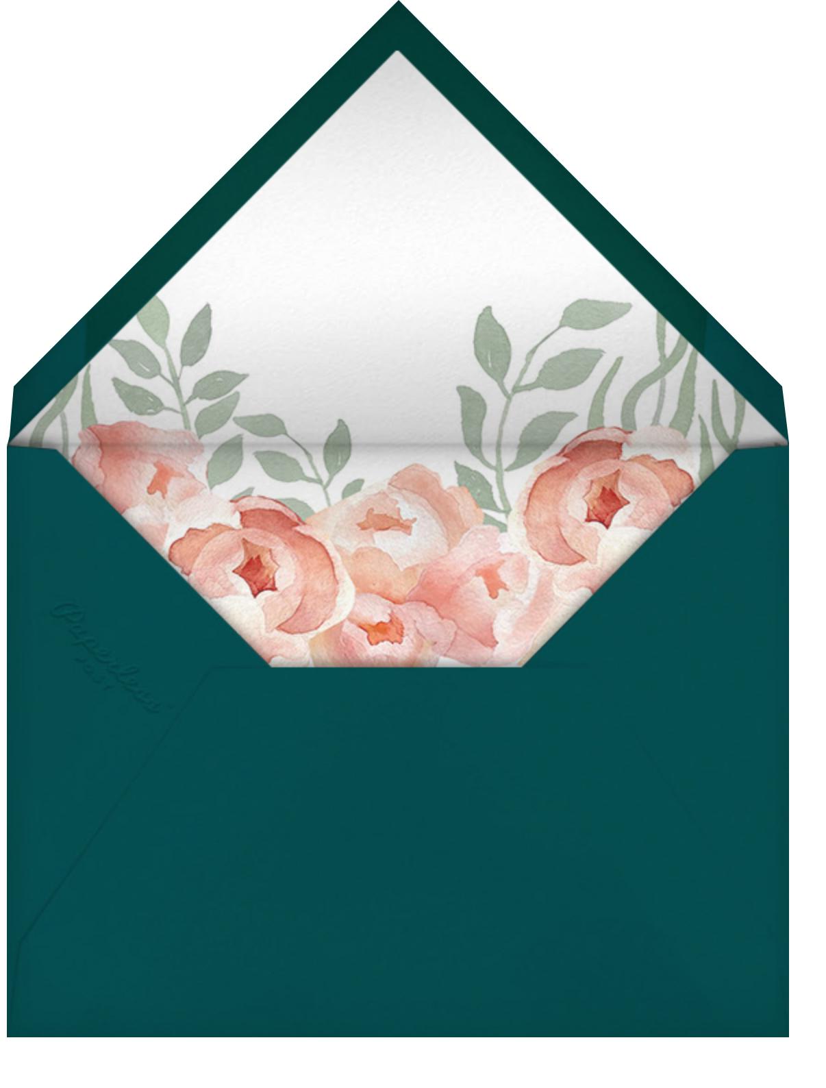 Peony Blooms - Paperless Post - Envelope