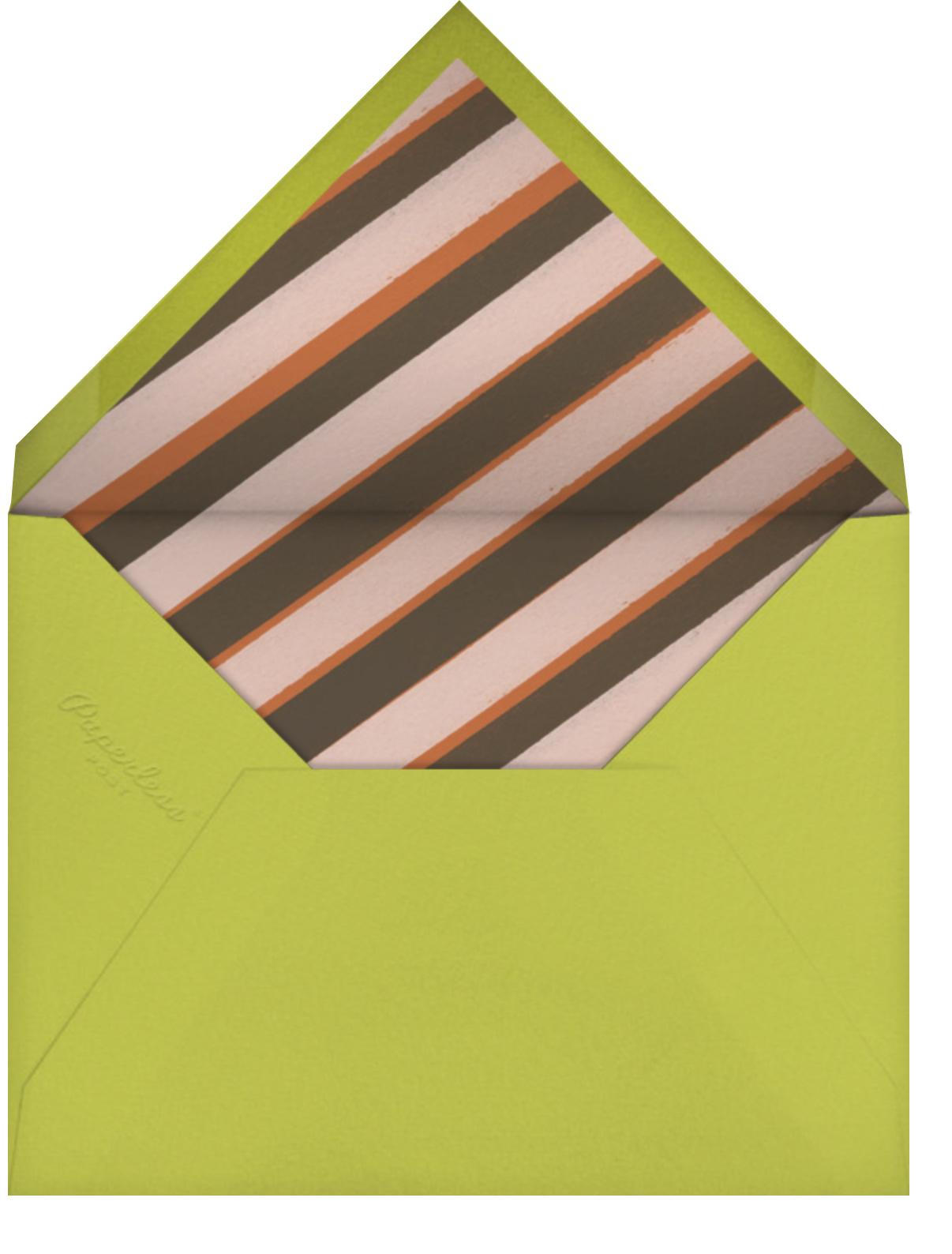 Hula Doll - Paperless Post - Envelope