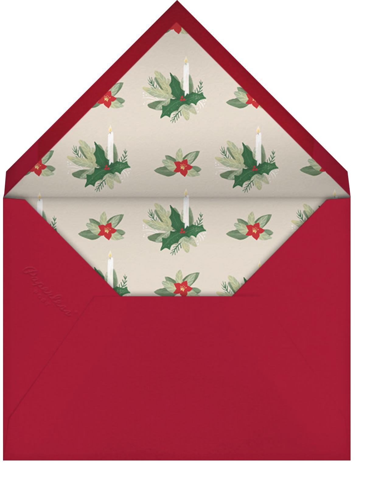 Advent Wreath - Paperless Post - Envelope