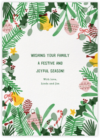 Fun Wreath - Paperless Post