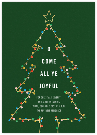 Joyful Tree - Paperless Post