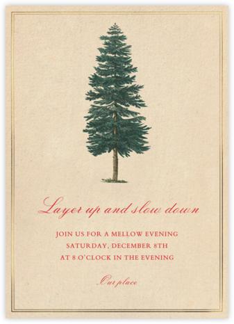 Ponderosa Pine - Paperless Post