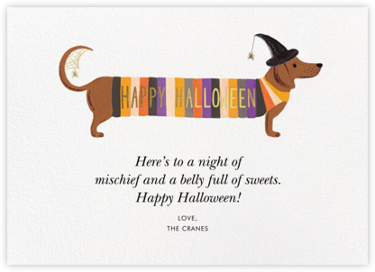 Hot Dog Halloween (Greeting) - Rifle Paper Co.