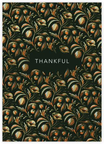 Plenty of Thanks (Dylan Mierzwinski) - Red Cap Cards