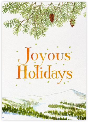 Joyous Holidays - Felix Doolittle