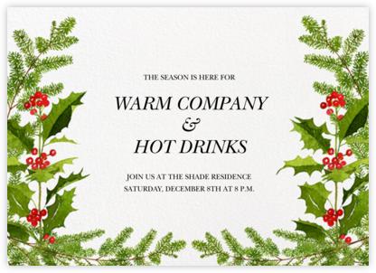Merry Season - Felix Doolittle - Holiday invitations