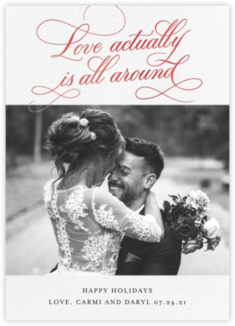 Actually Love - Red - Cheree Berry Paper & Design