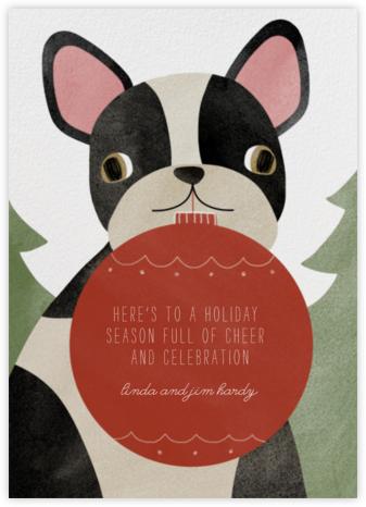 Boston Terrier Ornament - Paperless Post
