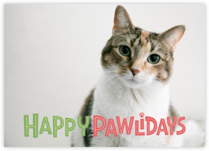 Happy Pawlidays - Paperless Post