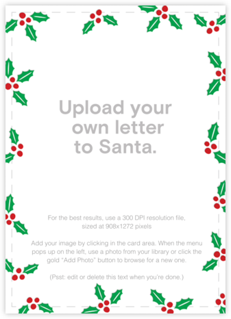 Holly Glow - Gold - Paperless Post