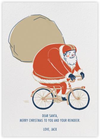 Santa's Bike Route - Paperless Post