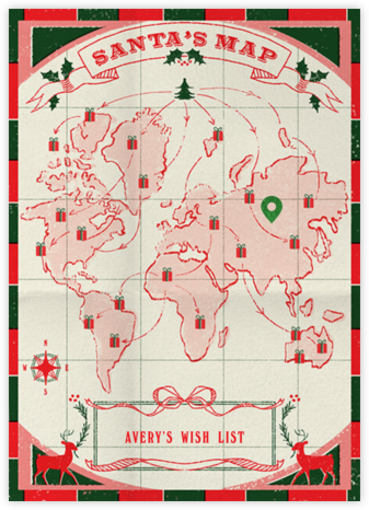 Santa's Routes - Paperless Post