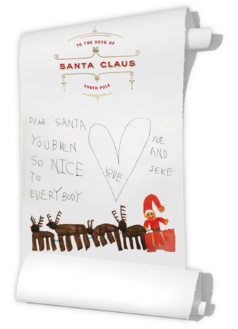 Santa's List Photo - Paperless Post
